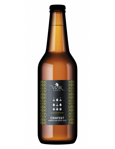Svetlo pivo ČrnFest - american pale ale