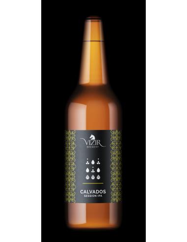 Svetlo pivo Calvados - session IPA