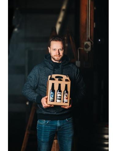 Mali darilni trojček piva Vizir (3 x...